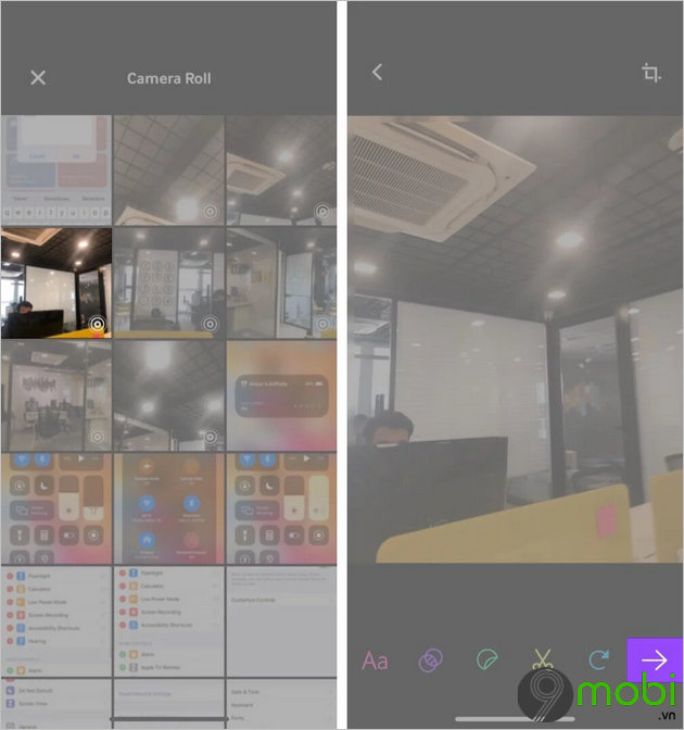 cach chuyen live photo thanh file gif tren iphone va ipad 9