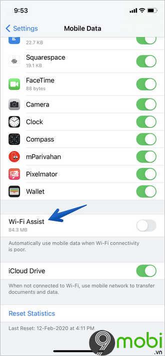 khong truy cap duoc wifi tren ios 14