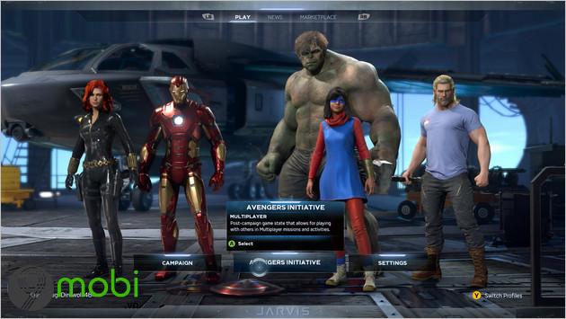 mo khoa che do multiplayer trong game marvel s avengers