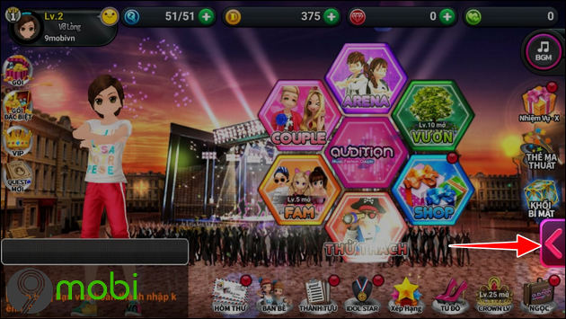 cach nhap code game auditionx
