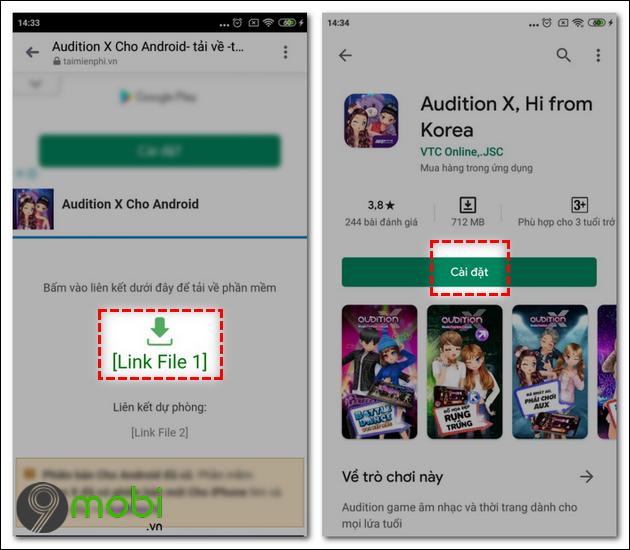Cách tải và chơi Audition X trên điện thoại Android, iPhone Cach-tai-va-choi-audition-x-tren-dien-thoai-1