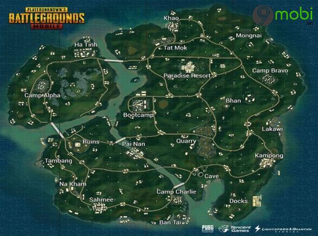 so sanh map sanhok vs erangel trong pubg mobile
