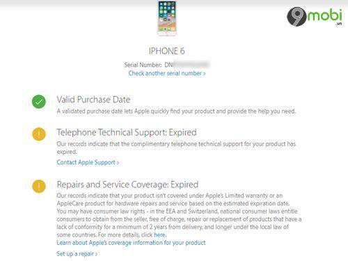 cac trang web kiem tra xuat xu iphone 3