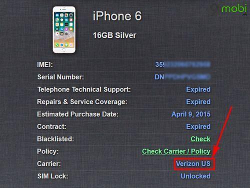 cac trang web kiem tra xuat xu iphone 5