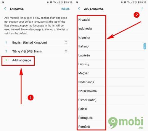 Đổi ngôn ngữ Samsung J7 Pro