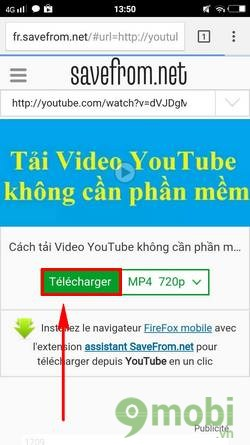 cach tai video youtube ve dien thoai android 4