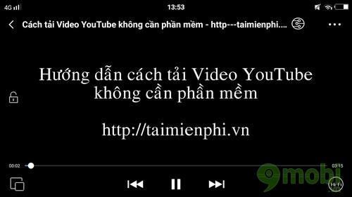 cach tai video youtube ve dien thoai android 6