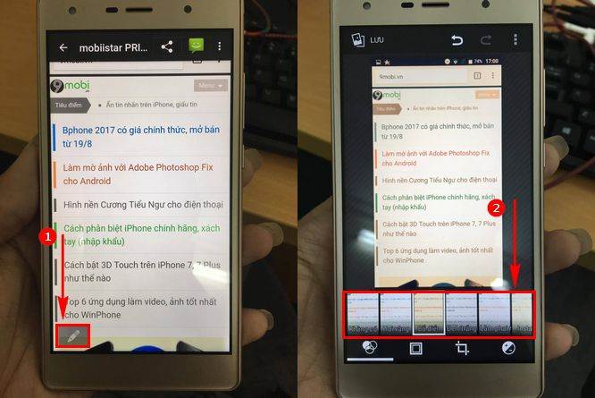 cach chup anh man hinh mobiistar prime x1 3
