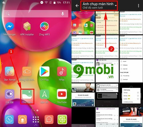 cach chup anh man hinh mobiistar prime x1 5