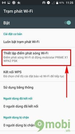 huong dan phat wifi tren mobiistar prime x1 4