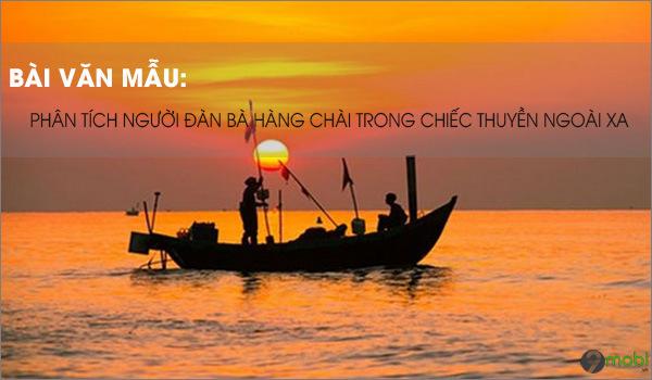 Hinh tuong nguoi dan ba trong Chiec thuyen ngoai xa