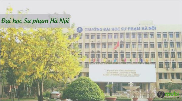 Diem chuan dai hoc su pham Ha Noi
