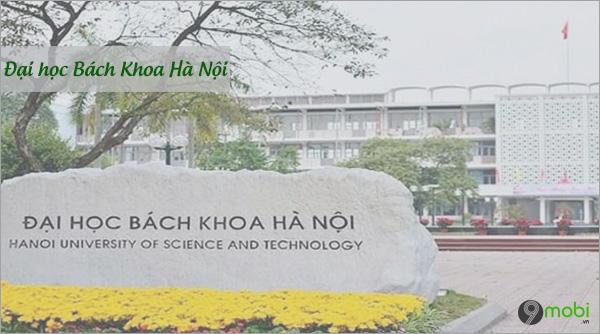 Diem chuan Dai hoc Back Khoa Ha Noi