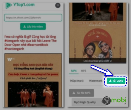 Tai video tren TikTok khong co logo
