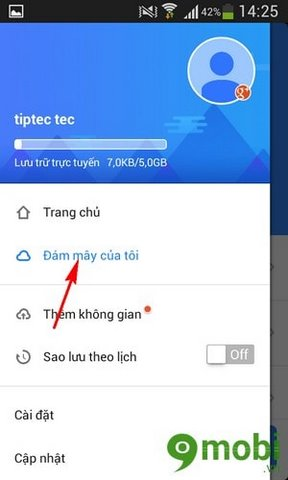 sao lưu danh bạ và tin nhắn trên Android