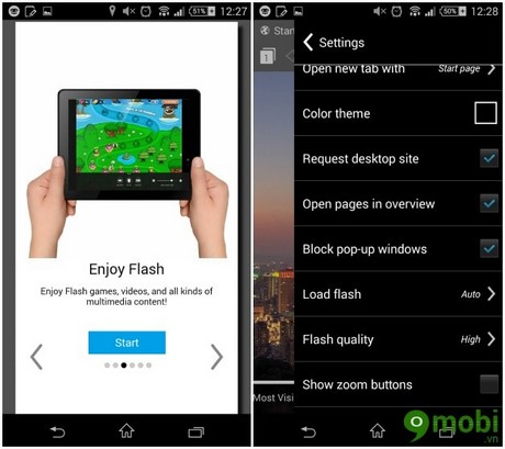 cai Flash Player cho Android 4.2
