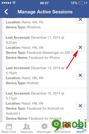 how to log off messenger on iphone how to log messenger for iphone 20149