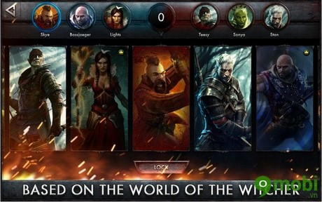 download The Witcher Battle Arena mien phi