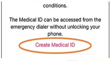 kich hoat tinh nang Medical ID tren iPhone 6
