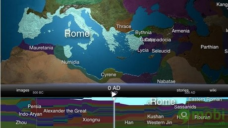 World History Atlas HD with 3D miễn phí