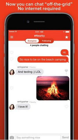 FireChat for iOS miễn phí