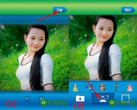 chinh sua anh tren Android