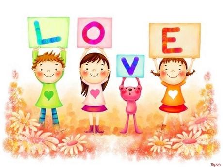 hinh nen de thuong love