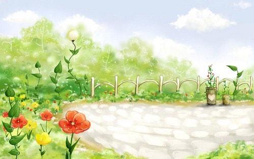 hinh nen dep hoat hoa