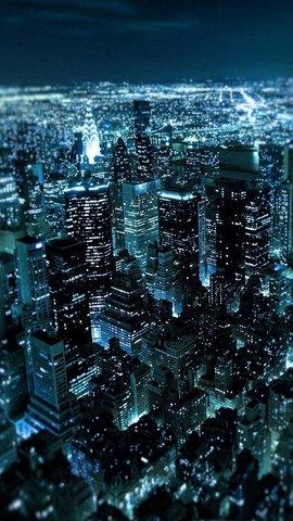 hình nền thành phố ban đêm cho galaxy