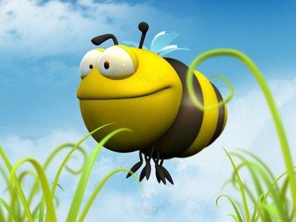 hinh nen hoat hinh chu ong