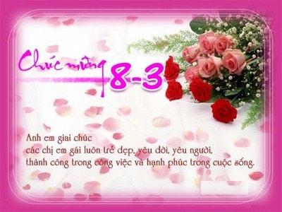 thiep 8.3 voi hoa hong