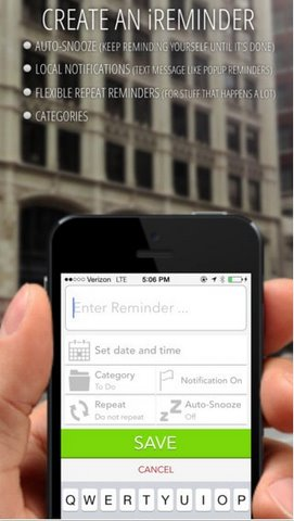 iReminder – Mastermind Edition cho iPhone miễn phí