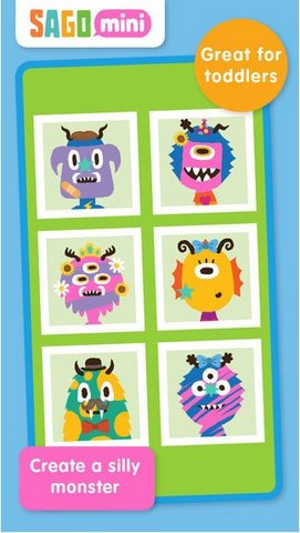 Sago Mini Monsters for iOS mien phi