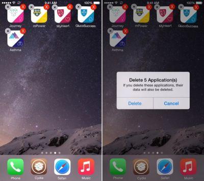 go nhieu ung dung mot luc tren iPhone 6 plus, 6, ip 5s, 5, 4s
