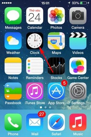 hen gio tren iPhone