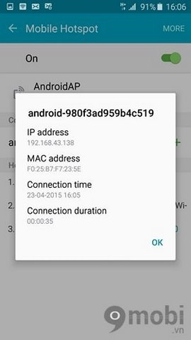 how to connect samsung galaxy edge 6 to wifi devices