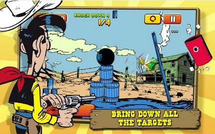 Lucky Luke Shoot & Hit cho Android mien phi