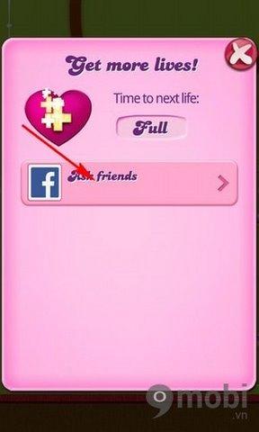 cach choi candy crush saga ket noi voi tai khoan facebook 5