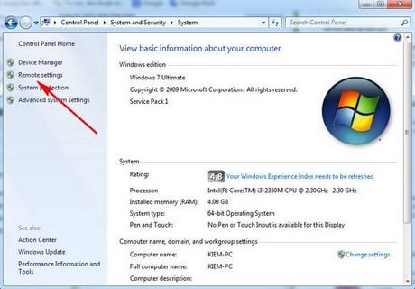 cach dung Microsoft Remote Desktop