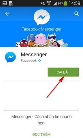 Tải ứng dụng Facebook Messenger