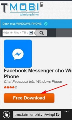 Instructions for installing the Facebook Messenger for your phone