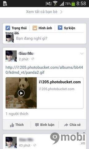 huong dan dang anh dong gif len facebok tren dien thoai 6