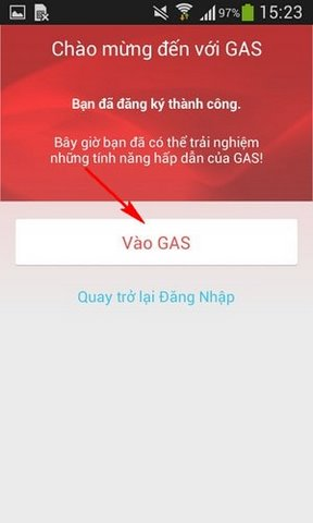 Account Registration Guide Gas