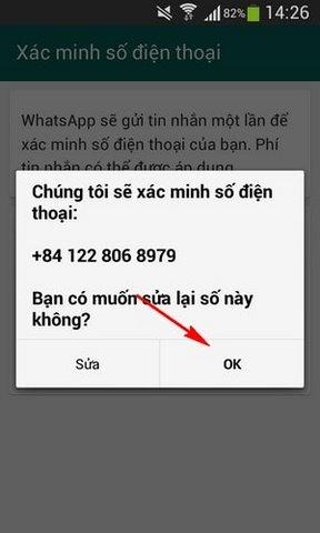 tao tai khoan Whatsapp Messenger