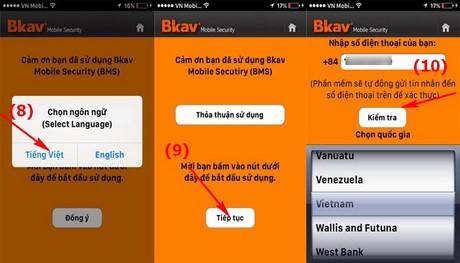 phan mem diet virus cho iOS