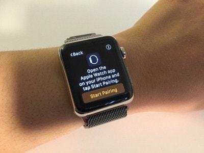 ghep noi Apple Watch voi iPhone