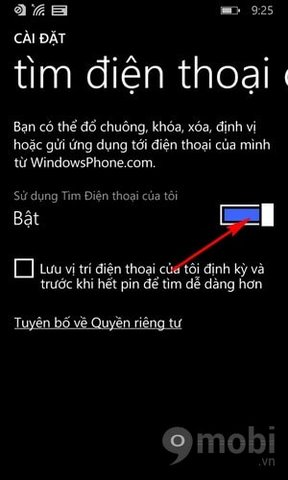 find my phone tren Lumia