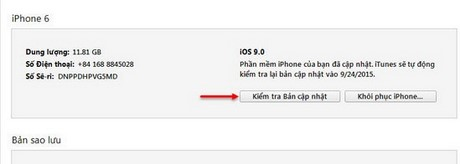 ha cap iphone ios 9 xuong ios 8.4