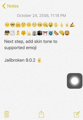 tai emoji ios 9