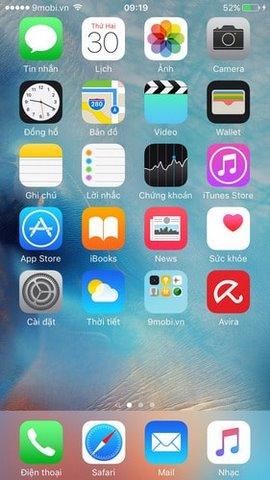 thay doi icon iphone